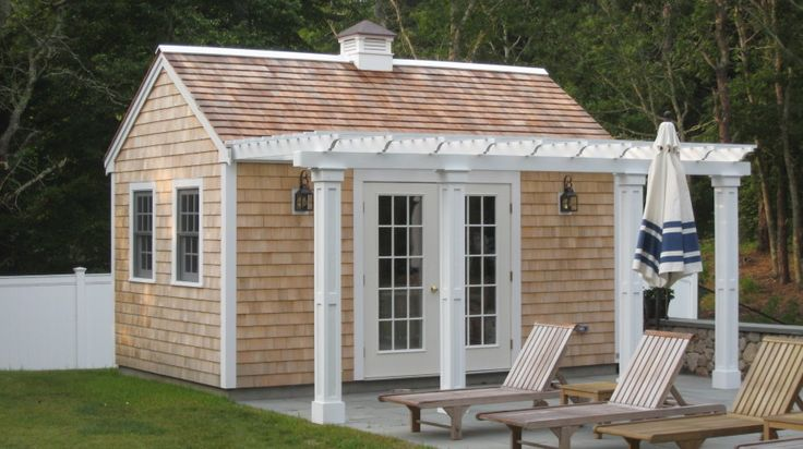 Pool House Shed Shed Design And Sheds On Pinterest