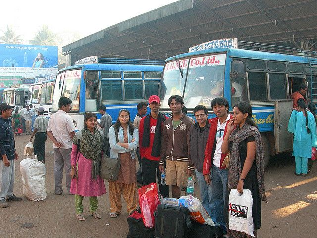 Starting off our journey from Sagara by Sreenath H B, via Flickr