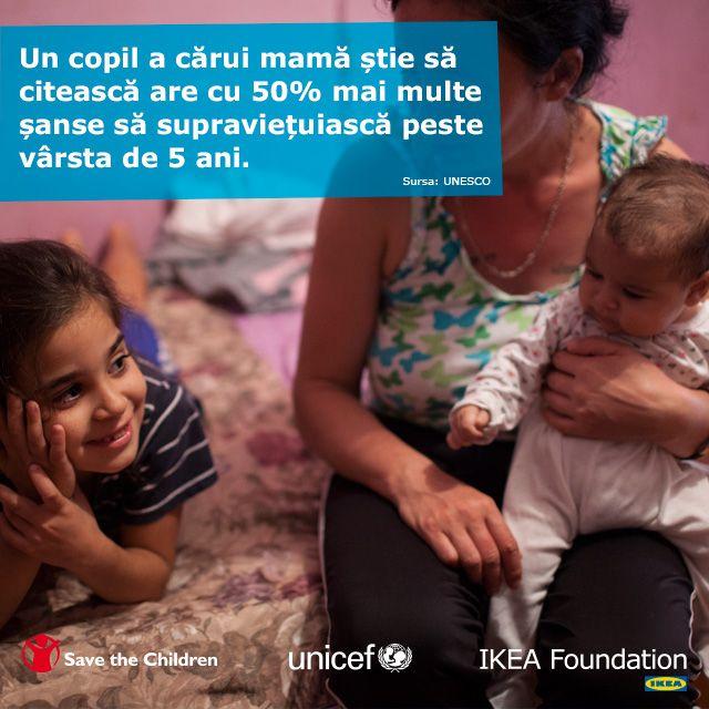 Toți copiii din lume merită o poveste, iar poveștile bune încep acasă și continuă la școală. Anul acesta, în perioada 10 noiembrie - 3 ianuarie, pentru fiecare jucărie de pluș cumpărată din magazinul IKEA România vom dona câte un euro pentru a susține proiectele educaționale UNICEF Romania și Salvati Copiii Romania. Fii și tu #ajutordepoveste!