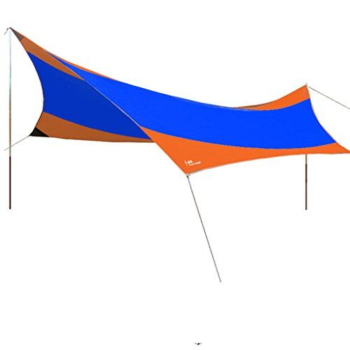 Hasika Escapist Tarp Waterproof Lightweight Large Tarp Shelter ScreenBlue -- Click on the image for additional details.