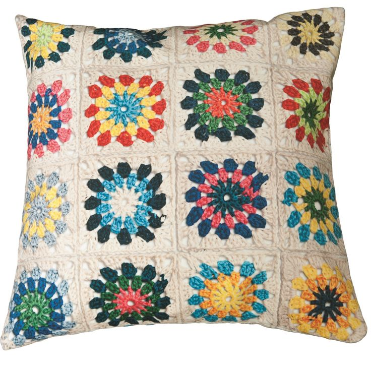 Snurk beddengoed - granny white cushion