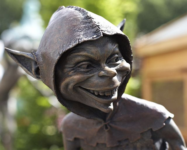 RHS Chelsea Flower Show - Another Goblin by David Goode