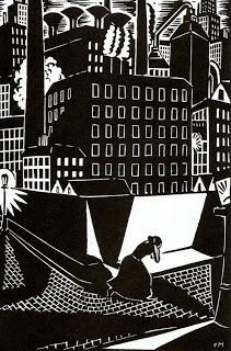 "ineedartandcoffee: Frans Masereel and ""The City"""