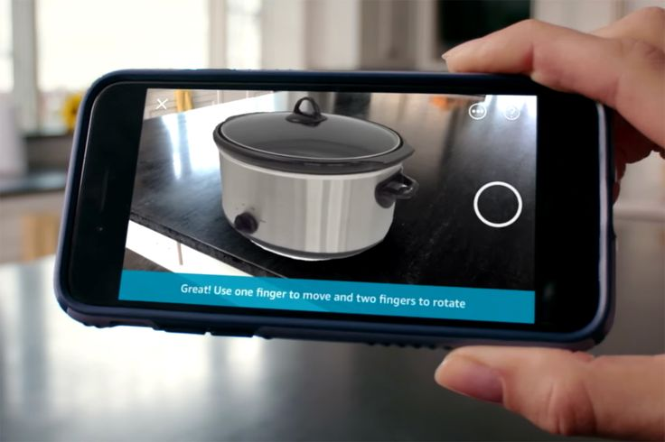 Amazon has unveiled AR View, an augmented reality shopping feature for iOS that shows what products will look like in your home.
