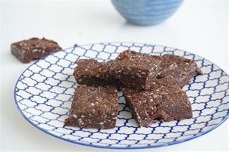 Healthy Rauwe Brownies