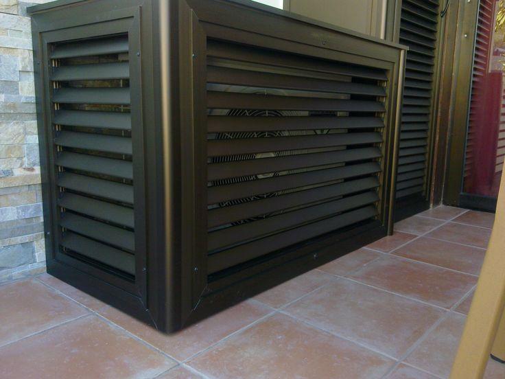 78 images about aluminio on pinterest portal colors for Caja aire acondicionado