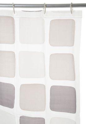 CUBE - Tenda da doccia - grigio