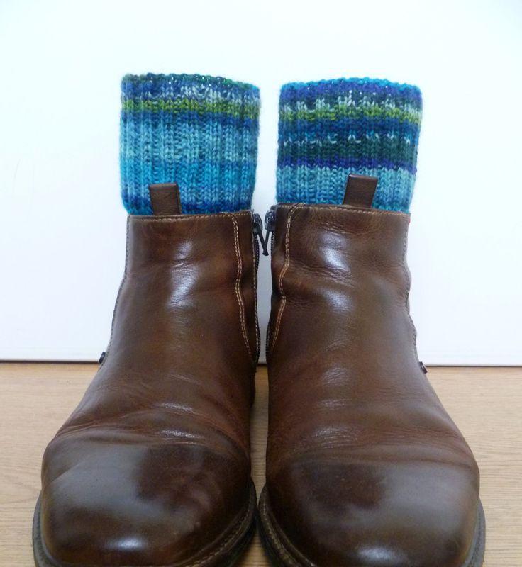 Blue Lagoon Socks | mens wool socks | hipster socks | casual socks | hiking socks | boho unisex socks | size EU43-45 | US95-115 (56.90 EUR) by HappyWoollies