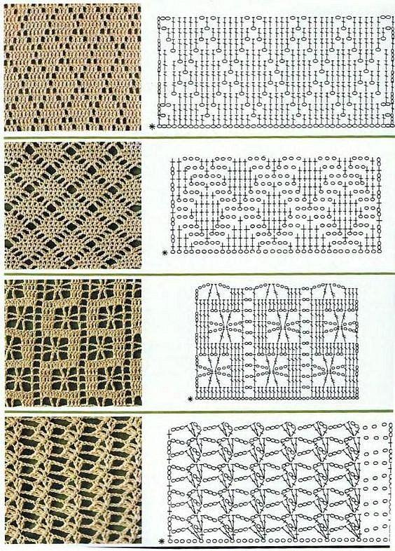 Mejores 8 imágenes de Ade en Pinterest | Punto de crochet ...