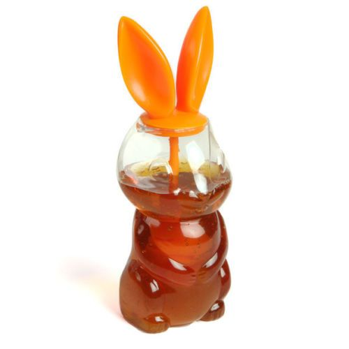 Gama Go Hunny Bunny Honey Jar with Dipper | eBay