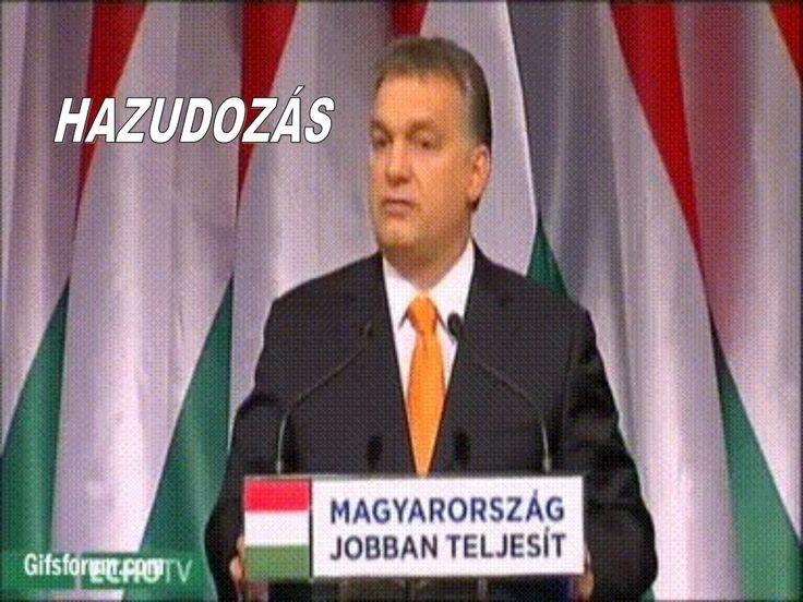 Tüntetés Orbán takarodj by HUMOROLDAL via slideshare