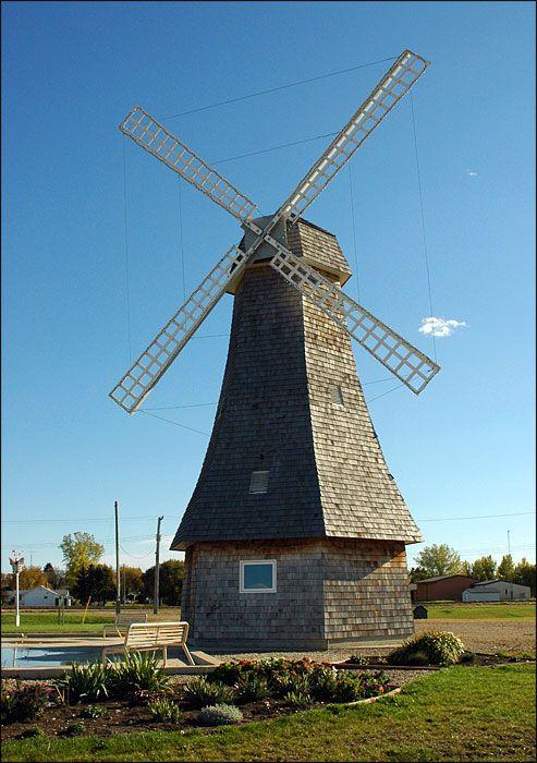 The Windmill at Holland Windmill Park, Manitoba. #exploremb