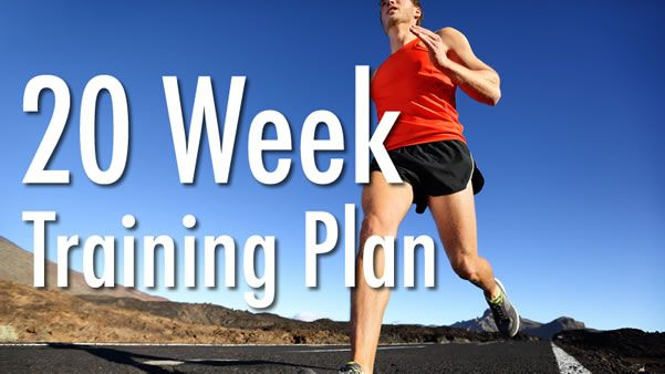Train for a half marathon with a gradual buildup to 13.1 miles with this 5-month training plan.