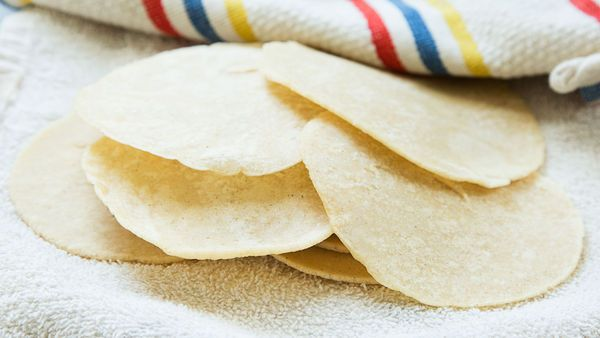 Chef Jose Garces, of Garces Group, shows us how to make corn tortillas from scratch for our next taco night.