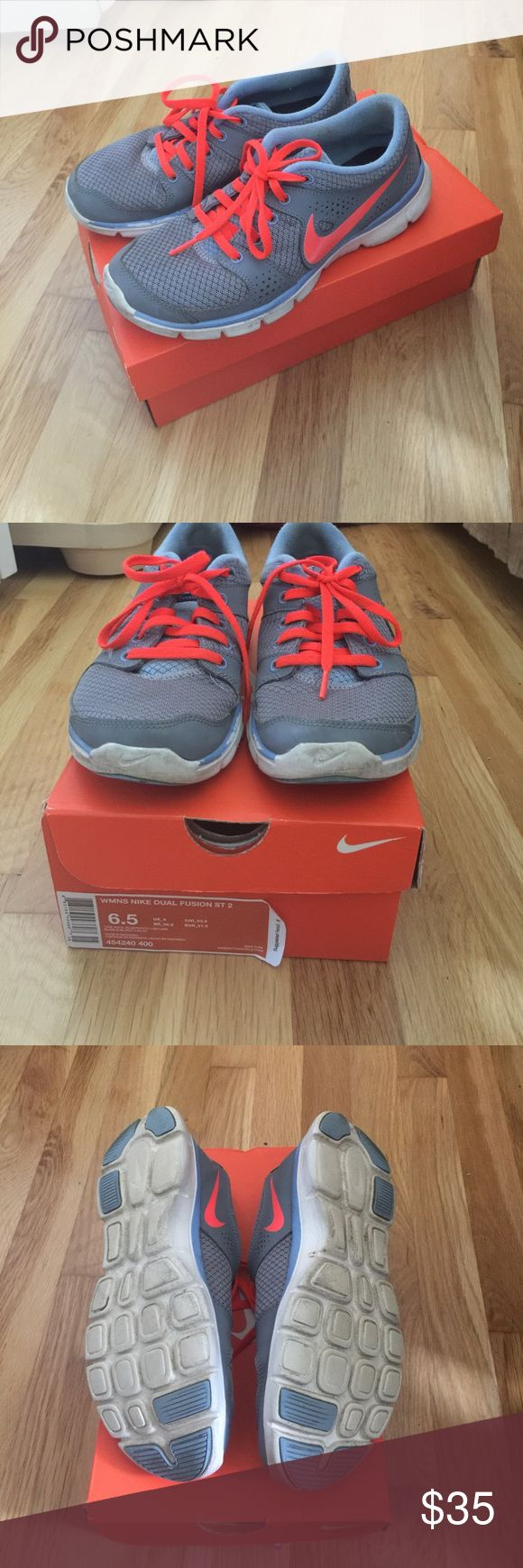 Nike Dual Fusion St 2. Firm price Can send box if needed Nike Shoes Athletic Shoes