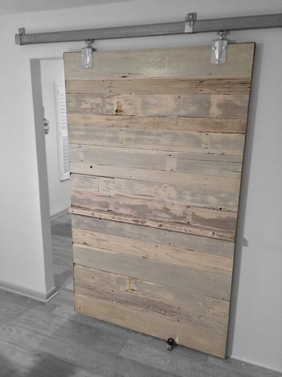 White Wash Reclaimed Cedar Sliding Door In 2019 Barn
