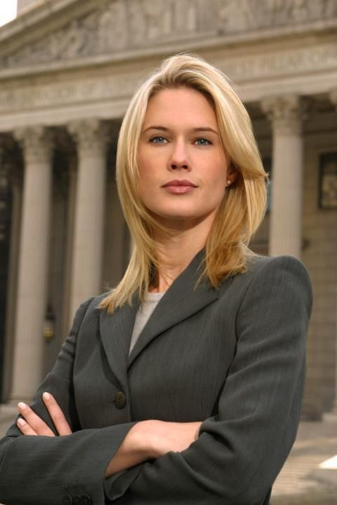 Stephanie March as Alex Cabot on Law & Order: SVU is a powerful career woman who loves her job.