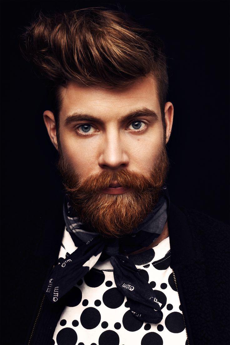 Mens hairstyle #beard