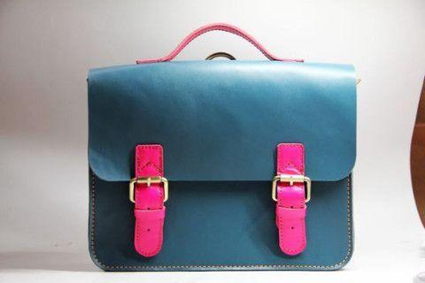 Handcrafted Artisan Genuine Leather Backpack Messenger Bag
