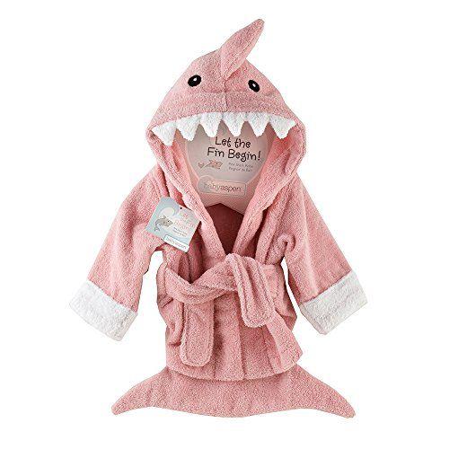 "Baby Aspen ""Let the Fin Begin""  Shark Robe, Pink, 0-9 Months Baby Aspen http://smile.amazon.com/dp/B0054YDLBC/ref=cm_sw_r_pi_dp_tfEdxb1D4GS2C"