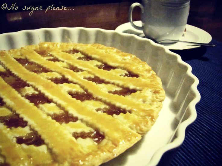 Ricetta crostata senza zucchero