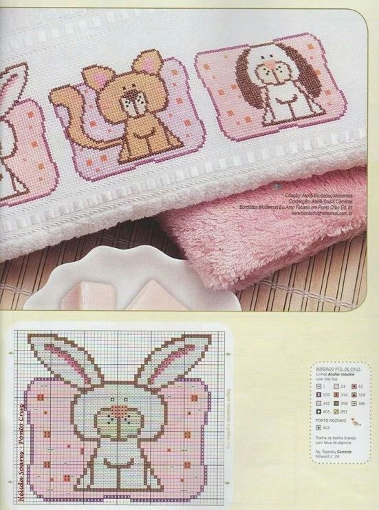 Gallery.ru / Фото #41 - toalhas infantis - tekere205