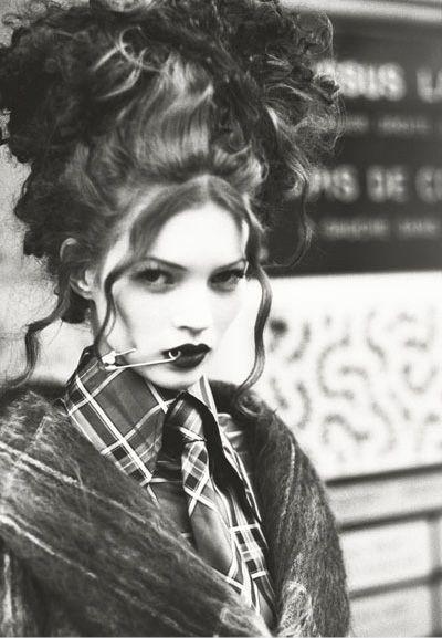 Kate Moss   Vivienne Westwood punk fashion