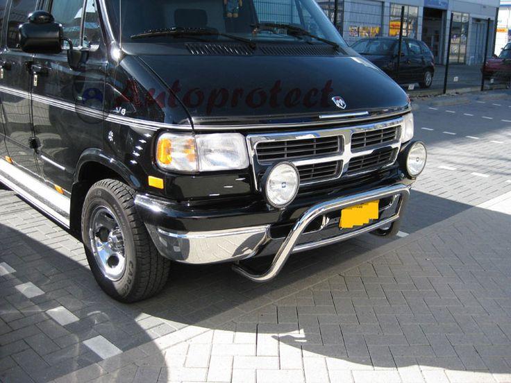 Dodge B1500 Ram Van Bumper Guards