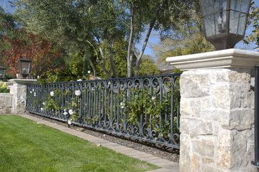 393 Best Fencing Images On Pinterest Iron Garden Fences