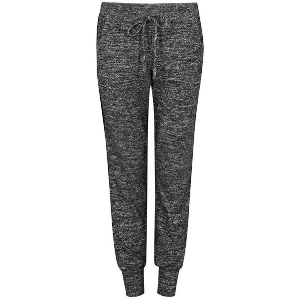 Velvet by Graham and Spencer Cozy Sweat Pants found on Polyvore featuring activewear, activewear pants, grey, sweat pants, jersey sweatpants, grey sweatpants, jersey sweat pants and tapered sweatpants