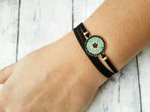 Hey, I found this really awesome Etsy listing at https://www.etsy.com/listing/493087764/evil-eye-bracelet-micropave-evil-eye
