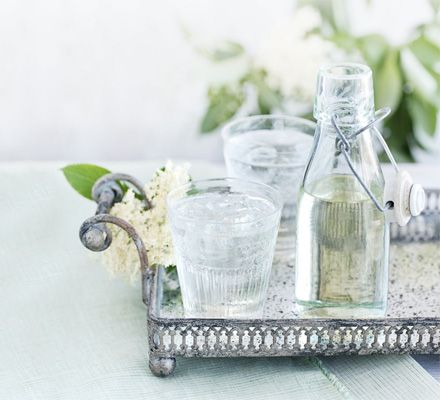 Fragrant and refreshing, elderflower cordial is simple to make. Mix with soda water, or add to sparkling wine to start a summer party in style