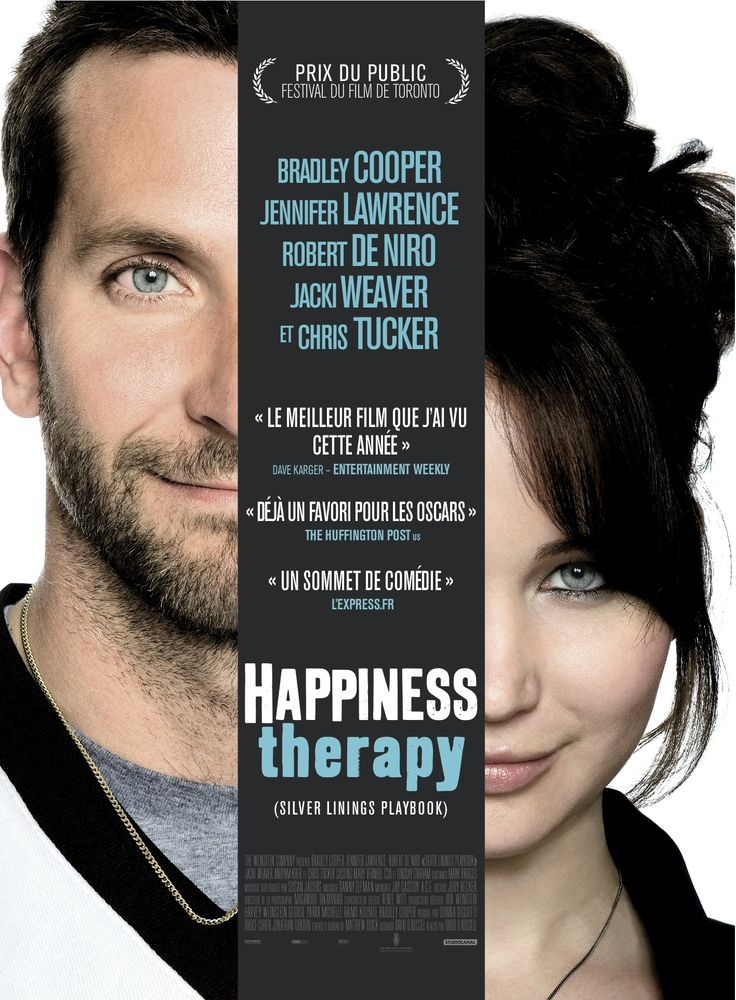 Un film de Dan O'Russel (Fighter) avec le bô gossse Bradley Cooper (Very Bad Trip)   et la montante Jennifer Lawrence (Hunger game). Pourquoi pas.