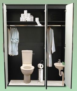 Have you ever gone to bed after a good night out, then in the early hours, bleary eyed, with your bladder bursting you get up and mistake the wardrobe for the toilet?