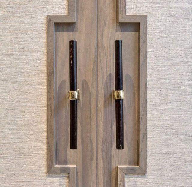 Doors & Hardware, art deco, front door, door detail, doorknob detail