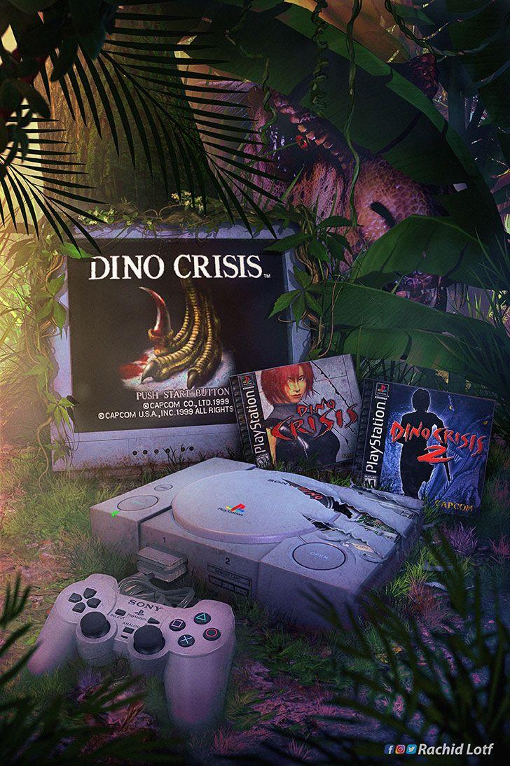 Dino Crisis Jogos Classicos Arte De Jogos Mundo Dos Games
