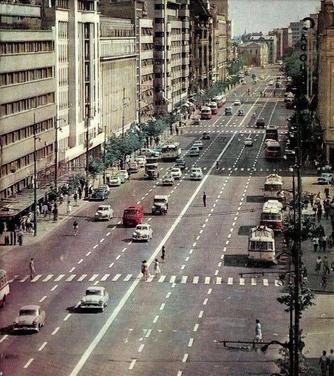 Bulevardul Magheru in 1965.