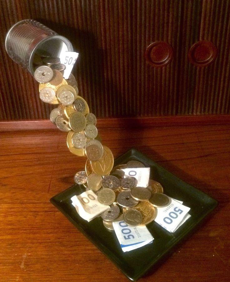 svævende pengegave