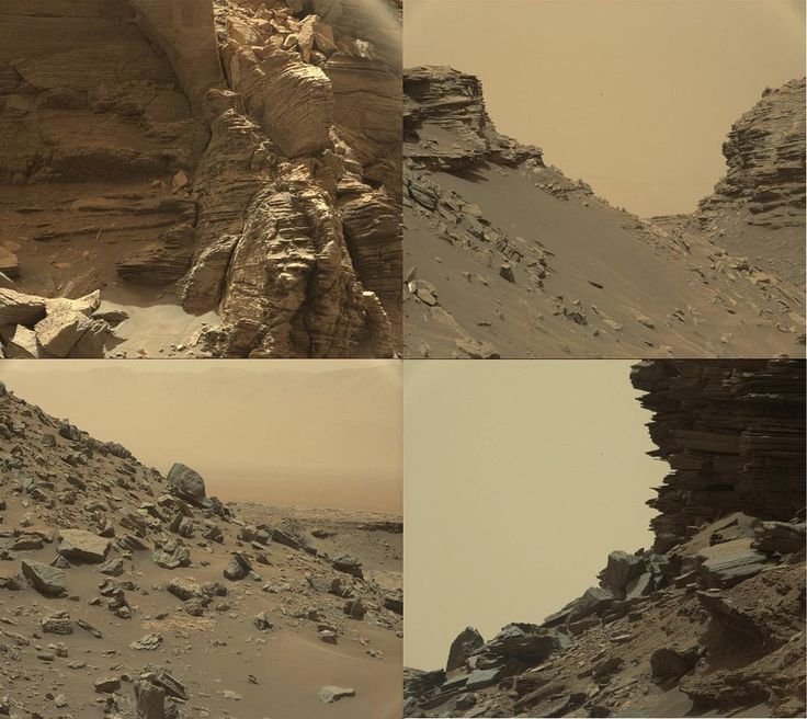 Can you guess where this rocky desert is? Perhaps somewhere in the American Southwest? Outback Australia?  These are actually some recent snaps from @nasa's Curiosity rover of the Martian landscape. Doesn't it look oddly familiar?  #Mars #space #planet #nasa