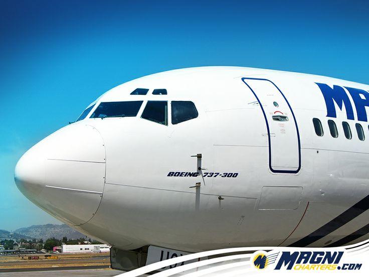 ¡Un #737 iniciando el día!