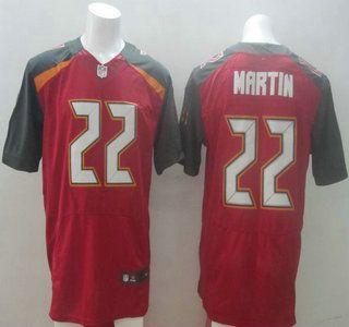 Nike Tampa Bay Buccaneers Jersey #22 Doug Martin 2014 New Style Red Elite…