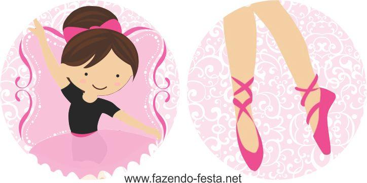 Mini Kit de Ballerina para Imprimir Gratis. | Ideas y material gratis para fiestas y celebraciones Oh My Fiesta!