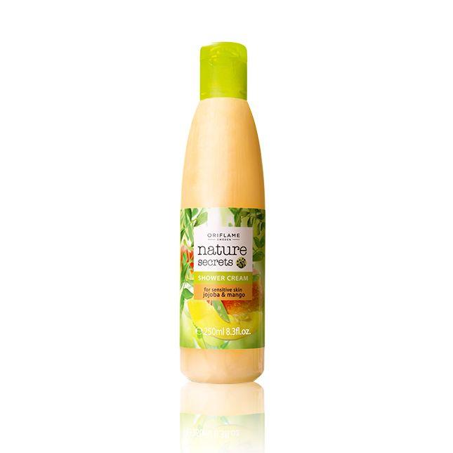 Nature Secrets Shower Cream for Sensitive Skin Jojoba & Mango