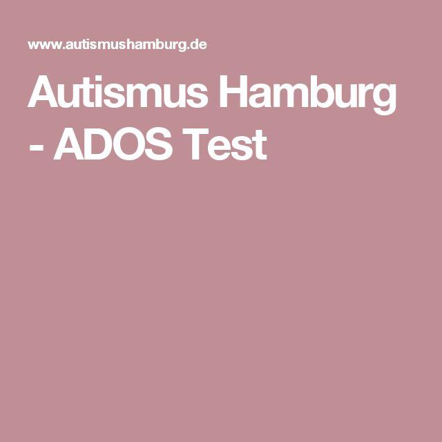 Autismus Hamburg - ADOS Test