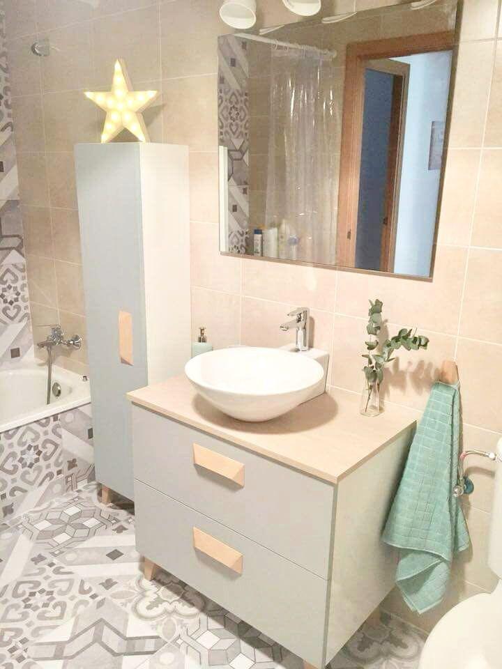 Vinilo de baldosas para una completa decoración de cuarto de baño ...