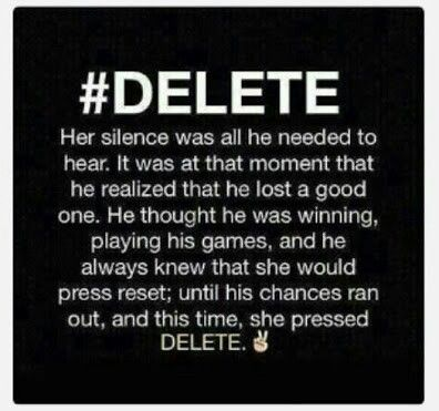 Delete the guy that makes you anything but happy.