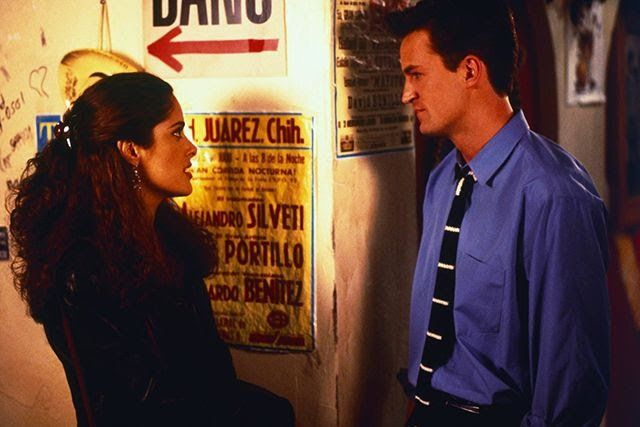Two weeks ago, I was doing my end-of-July roundup of what's coming to and leaving Netflix in August. My eyes were glazing over (the lists were pretty long), when suddenly, there it was: Fools Rush In. The 1997 romantic comedy starring Matthew Perry and Salma Hayek would no longer be available
