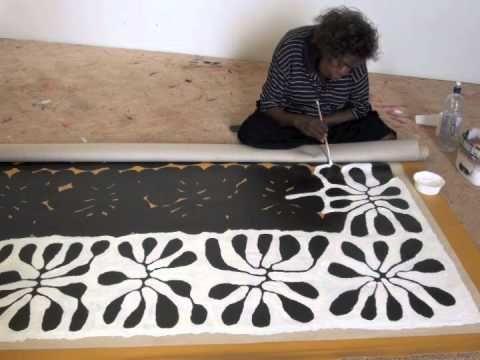 Aboriginal Artist Mitjili Napurrula 0930