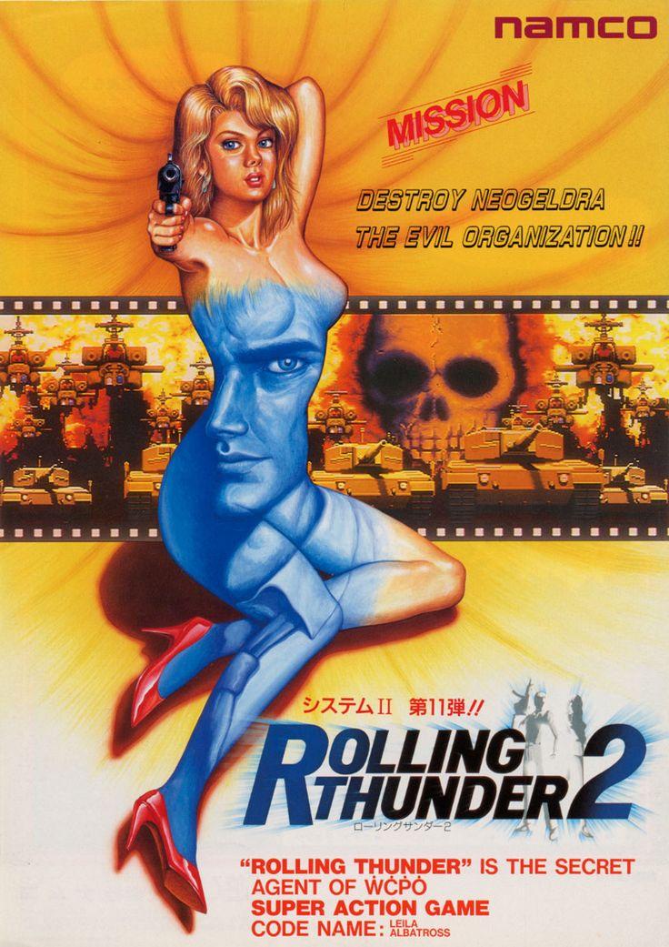 Rolling Thunder 2, Arcade, Namco, 1991.