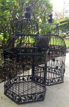 2 Vintage Style Birdcages $60